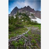Three Fingered Jack Stock Image, Mt. Jefferson Wilderness, Oregon