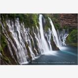 Burney Falls Stock Image, Northern California