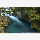 North Umpqua Above Toketee Stock Image Oregon