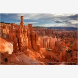 Sunset Point View Stock Image, Bryce Canyon, Utah