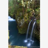North Umpqua Above Toketee IV Stock Image, Oregon