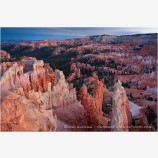 Sunrise Point At Sunset Stock Image, Bryce Canyon, Utah