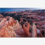 Sunrise Point At Sunset Stock Image, Bryce Canyon, Utah