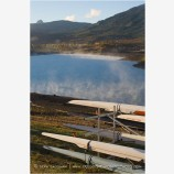 Rowing Shells at Emigrant Lake Stock Image Ashland, Oregon