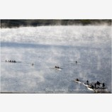 Rowing on Emigrant Lake 2 Stock Image Ashland, Oregon