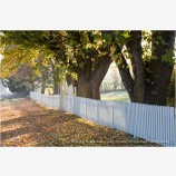 Fall Picket Fence Stock Image Ashland, Oregon