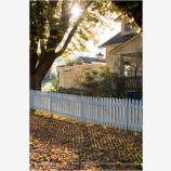 Fall Picket Fence 3 Stock Image Ashland, Oregon