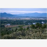Upper Table Rock View Stock Image Medford, Oregon