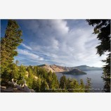 Crater Lake 12 Stock Image Oregon