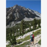 Backpacking in the Sierra Mountains 2 Stock Image High Sierras, California