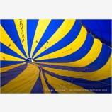 Inside a Hot Air Balloon Stock Image Montague, California