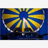 Inside a Hot Air Balloon 2 Stock Image Montague, California