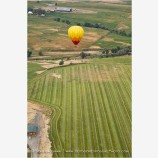 Hot Air Balloon Midflight 3 Stock Image Montague, California