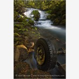 Pearsony Falls Stock Image Prospect, Oregon