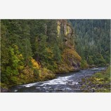 North Umpqua River Stock Image Douglas County, Oregon