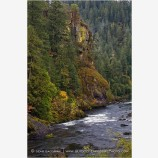 North Umpqua River 2 Stock Image Douglas County, Oregon