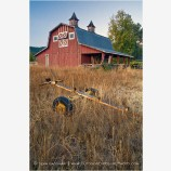 Old Red Barn Stock Image Ashland, Oregon