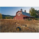 Old Red Barn 2 Stock Image Ashland, Oregon