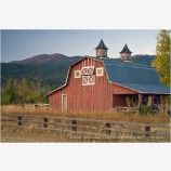Old Red Barn 3 Stock Image Ashland, Oregon