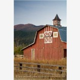 Old Red Barn 4 Stock Image Ashland, Oregon