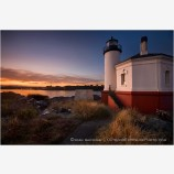 Coquille River Lighthouse 7 Stock Image Bandon, Oregon