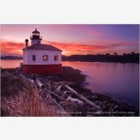 Coquille River Lighthouse 8 Stock Image Bandon, Oregon
