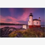 Coquille River Lighthouse 9 Stock Image Bandon, Oregon