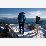 Back Country Skiing Stock Image Siskiyou Mountains, Oregon