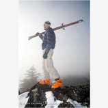 Back Country Skiing 4 Stock Image Siskiyou Mountains, Oregon