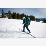 Back Country Skiing 8 Stock Image Siskiyou Mountains, Oregon