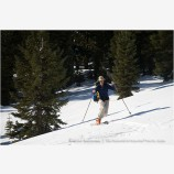 Back Country Skiing 9 Stock Image Siskiyou Mountains, Oregon