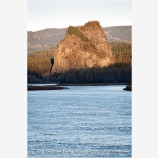 Beacon Rock Stock Image Columbia River, Oregon