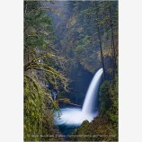 Metlako Falls Stock Image Columbia River, Oregon