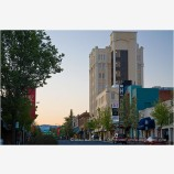 Main Street Morning Stock Image Ashland, Oregon