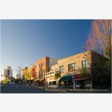 Main Street Morning 4 Stock Image Ashland, Oregon