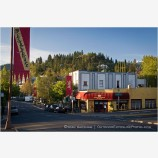 Main Street Morning 6 Stock Image Ashland, Oregon