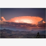 Storm over the Siskiyou Mountains Stock Image Ashland, Oregon
