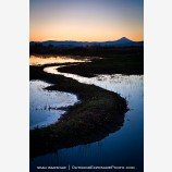 Sunrise by Mt. McLoughlin Stock Image Medford, Oregon