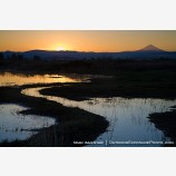 Sunrise by Mt. McLoughlin 3 Stock Image Medford, Oregon