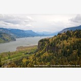Crown Point Stock Image Columbia River Gorge, Oregon