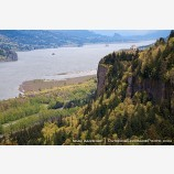 Crown Point 3 Stock Image Columbia River Gorge, Oregon