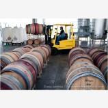 Wine Barrels 2 Stock Image Medford, Oregon