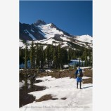Backpacking Mt. Jefferson Wilderness 4 Stock Image Oregon Cascade Range
