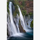 Burney Falls 2 Stock Image Northern California