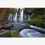 Burney Falls 3 Stock Image Northern California