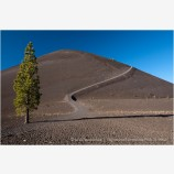 Lassen Volcanic National Park 9 Stock Image California
