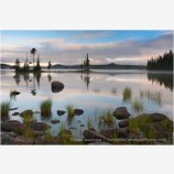 Waldo Lake 15 Stock Image, Cascade Mountains, Oregon