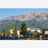 Frontier Town Stock Image, Joseph, Oregon