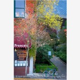 Ashland Plaza in Fall Stock Image, Oregon