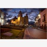 Basilica At Dawn Stock Image, Guanajuato, Mexico